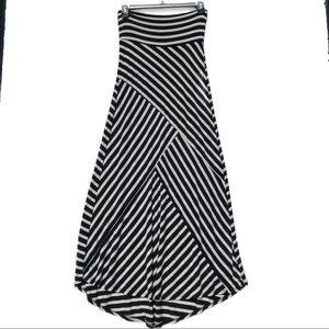 High low flowy maxi dress